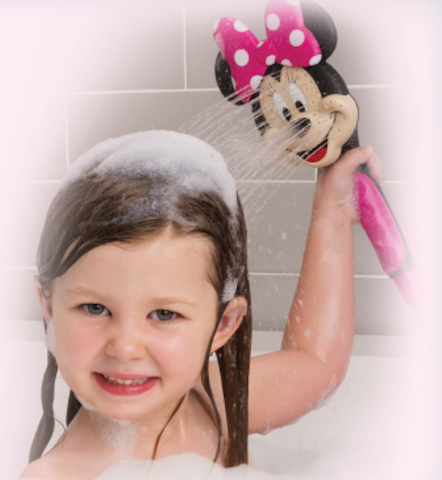 Oxygenics minnie mouse shower head